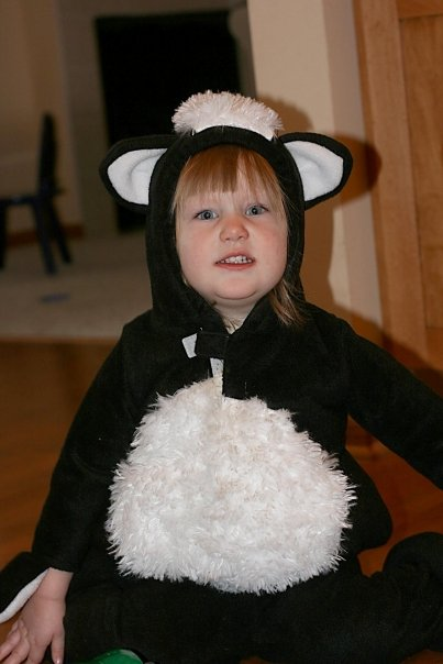 Gracie the skunk cheese