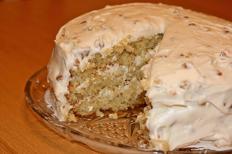 This is called Billie's Italian Cream Cake I snatched it from the ...