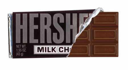 Hershey-chocolate-bar