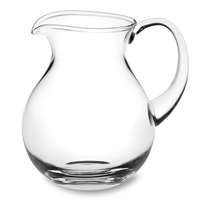 Glass pitcher 2.5 qts