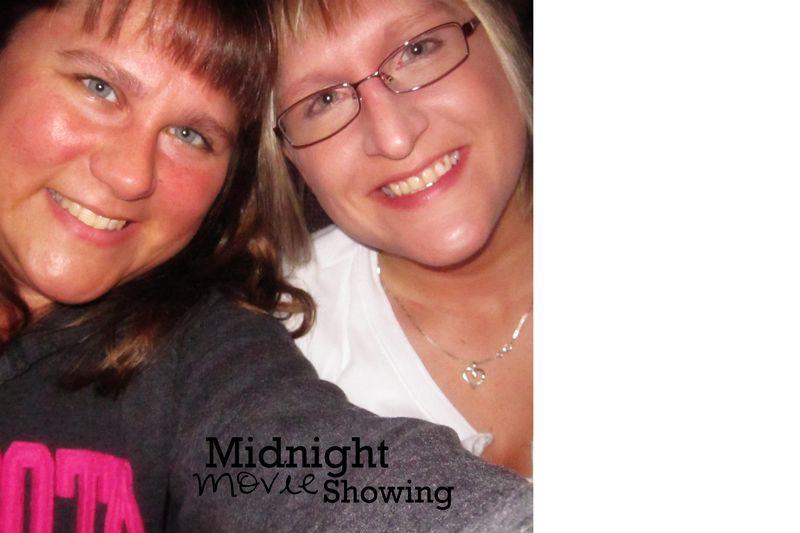 Midnight movie showing