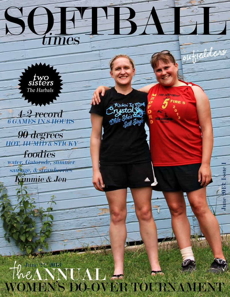 Softball times June 2013 Issue #1