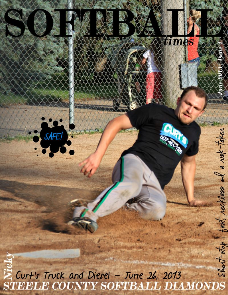 Softball times June 2013 Issue 4