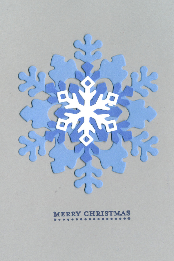 Dd 14 day 3 cards - snowflake