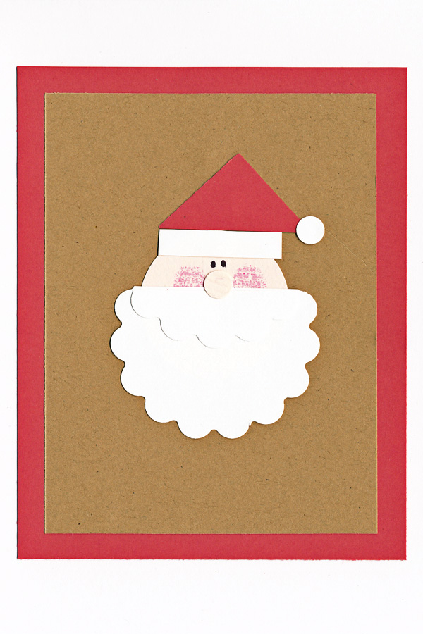Dd 14 day 3 cards - santa
