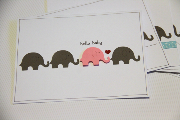 Hello baby card002