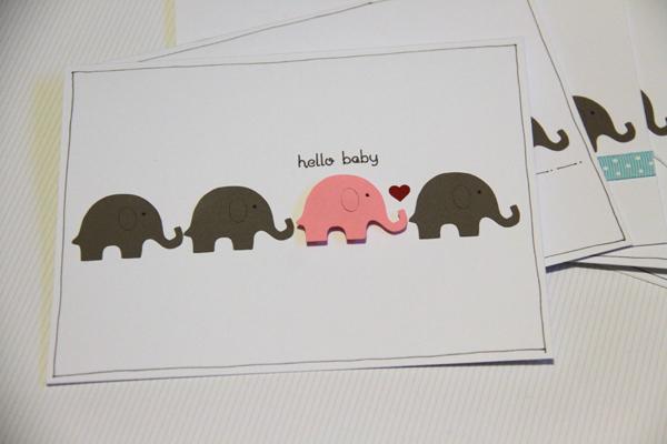 Hello baby card002