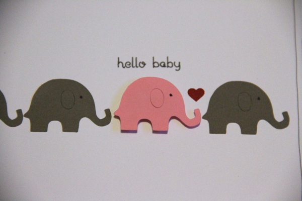 Hello baby card004