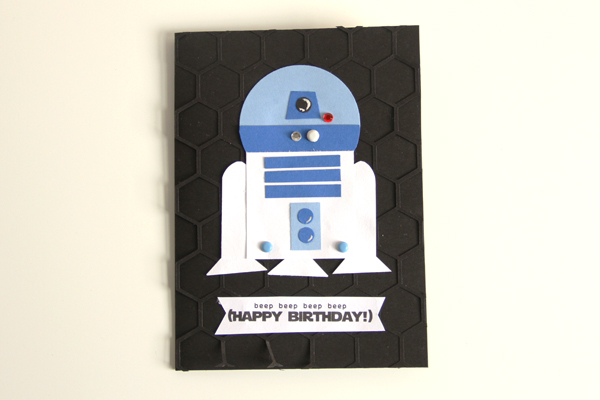 Happy birthday r2d2 card