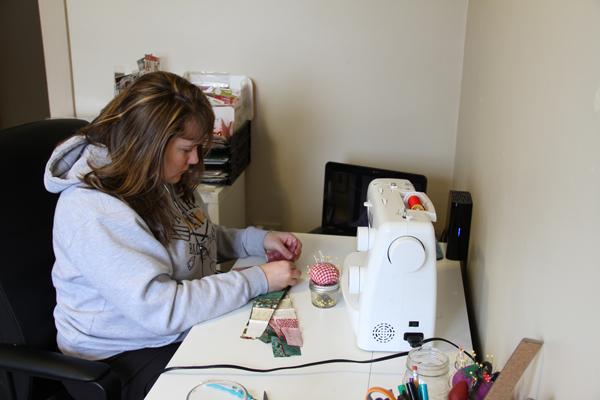 Jen-sewing