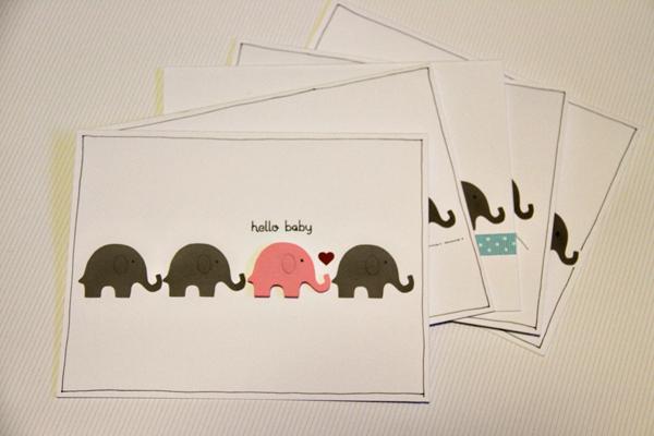 Hello baby card001