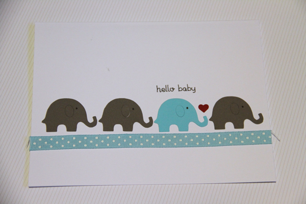 Hello baby card010
