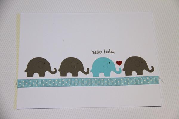Hello baby card010