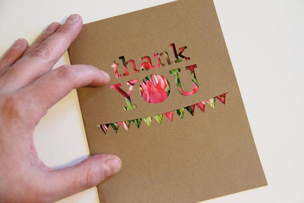 Thank u w.pic cutout card013
